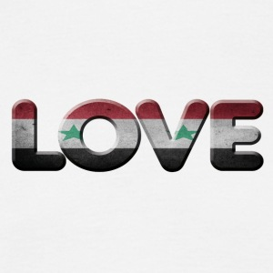 I LOVE SYRIA - Men's T-Shirt