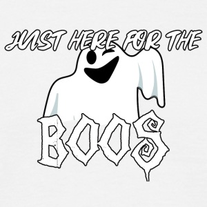 Halloween: Just Here For The Boos - Men's T-Shirt