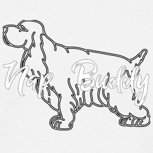 Dog / Cocker Spaniel: Nap Buddy - Men's T-Shirt