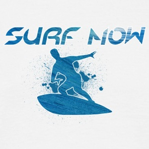 surf now 01 - Men's T-Shirt