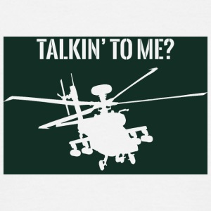 Military / Soldiers: Talkin' to me? - Men's T-Shirt