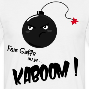 kaboom! - Men's T-Shirt