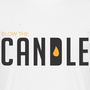 BLOW THE CANDLE - Men's T-Shirt