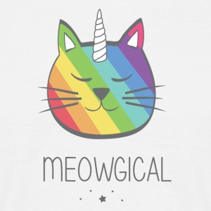 Meowical - T-shirt herr