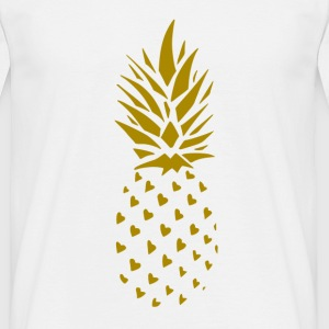 ananas Gold - T-skjorte for menn