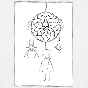Scary dreamcatcher - T-skjorte for menn