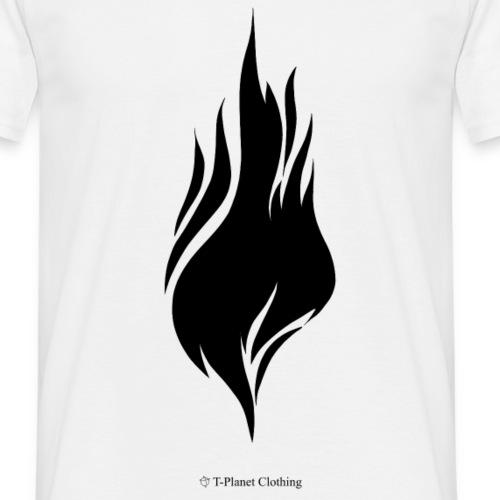 Black Flame - Maglietta da uomo