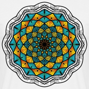 Mandala - T-skjorte for menn