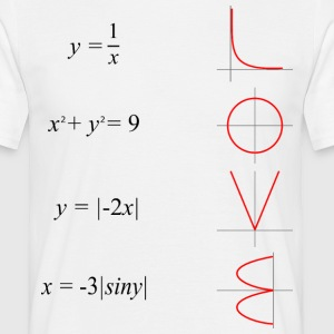 All you need is love math - Koszulka męska