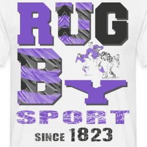 Rugby Sedan 1823 - T-shirt herr