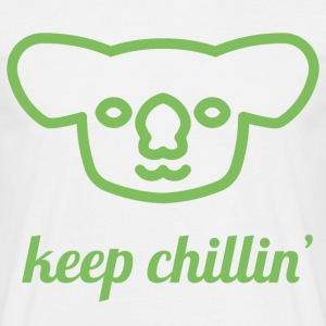 Chillin 'Koala - T-skjorte for menn