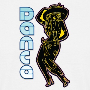 pin up noir de danse - T-shirt Homme