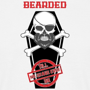Bearded - T-skjorte for menn