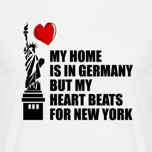 My Home is in Duitsland - Mannen T-shirt