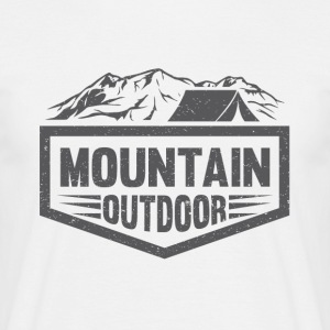 Mountain Outdoor - Mannen T-shirt