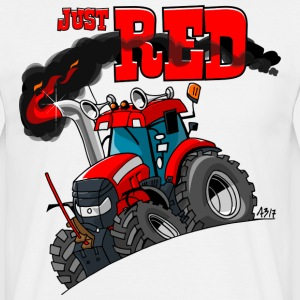 juste ROUGE - T-shirt Homme