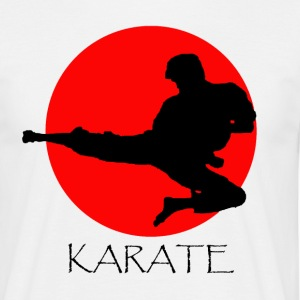 karate - Mannen T-shirt