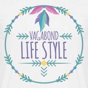 Hippie / Hippies: Vagabond livsstil - T-skjorte for menn
