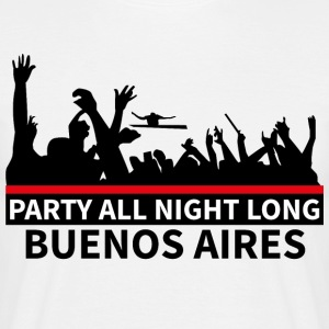 BUENOS AIRES Party - Männer T-Shirt