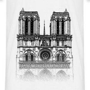 Around The World: Notre Dame - Paris - T-shirt Homme