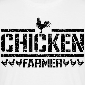 chicken farmer - Men's T-Shirt