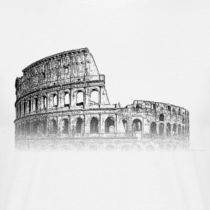 Around The World: Colosseum - Roma - T-skjorte for menn