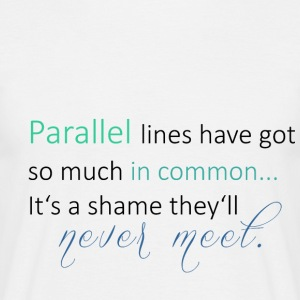 Parallel Lines 2 - Men's T-Shirt