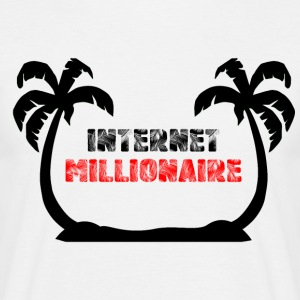 INTERNET MILLIONAIRE COLLECTION - Men's T-Shirt