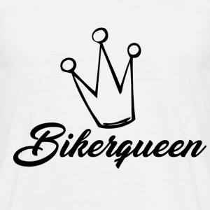 Biker Queen - Mannen T-shirt