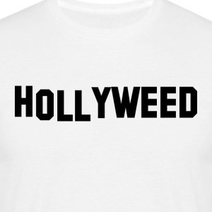 Hollyweed Black - Mannen T-shirt