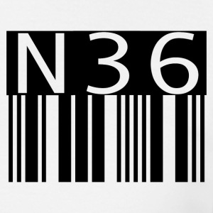 n36barcode - Men's T-Shirt