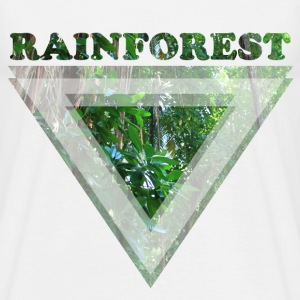 Rainforest - T-skjorte for menn