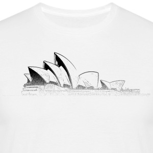 Around The World: Opera House - Sydney - T-skjorte for menn