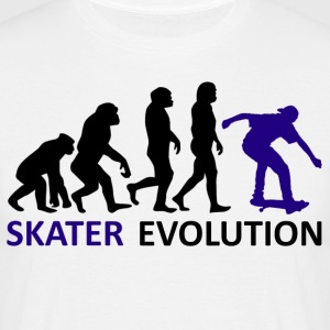 ++ ++ Skater Evolution - T-shirt herr