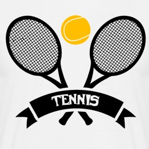 Tennis! - T-skjorte for menn