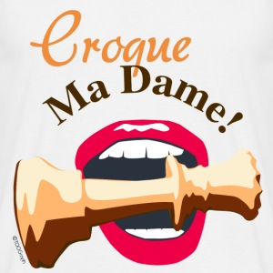 Croque My Lady - T-shirt herr