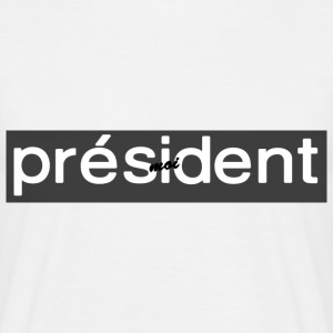 NEM - President 2017 Collectie - Mannen T-shirt