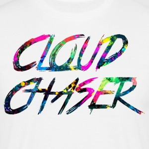 regnbue CLOUD CHASER - Herre-T-shirt