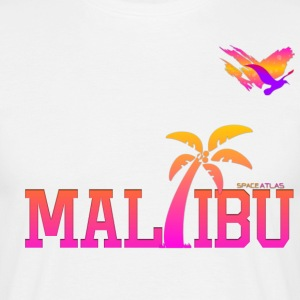 Space Atlas Ladies T-shirt Malibu - Men's T-Shirt