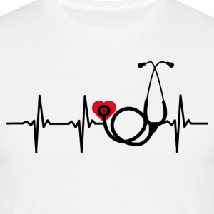 ++ ++ Nurse with heart - Men's T-Shirt