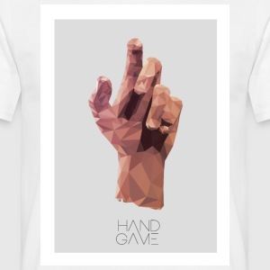 Hand Game Design - Männer T-Shirt