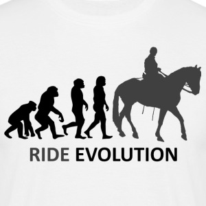 ++ ++ Ride Evolution - T-skjorte for menn