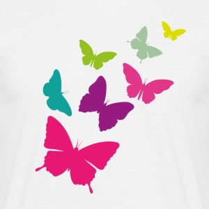 butterfly swarm - Men's T-Shirt