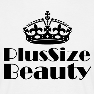 Plus Size Beauty - Männer T-Shirt