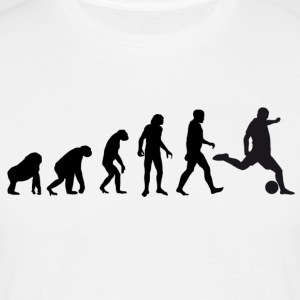 Football Evolution / Soccer évolution - White Edition - T-shirt Homme
