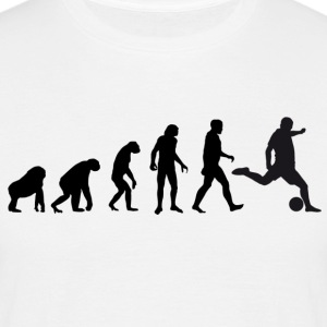 Football Evolution / Soccer evolution - White Edit - Men's T-Shirt