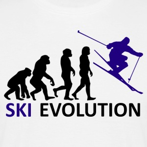 ++ ++ Ski Evolution - Mannen T-shirt