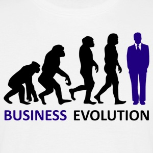 ++ ++ Business Evolution - T-shirt herr