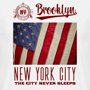 New York · Brooklyn - T-skjorte for menn