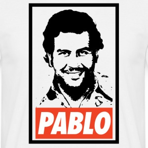 Pablo Escobar Obey - Narcos - T-shirt Homme